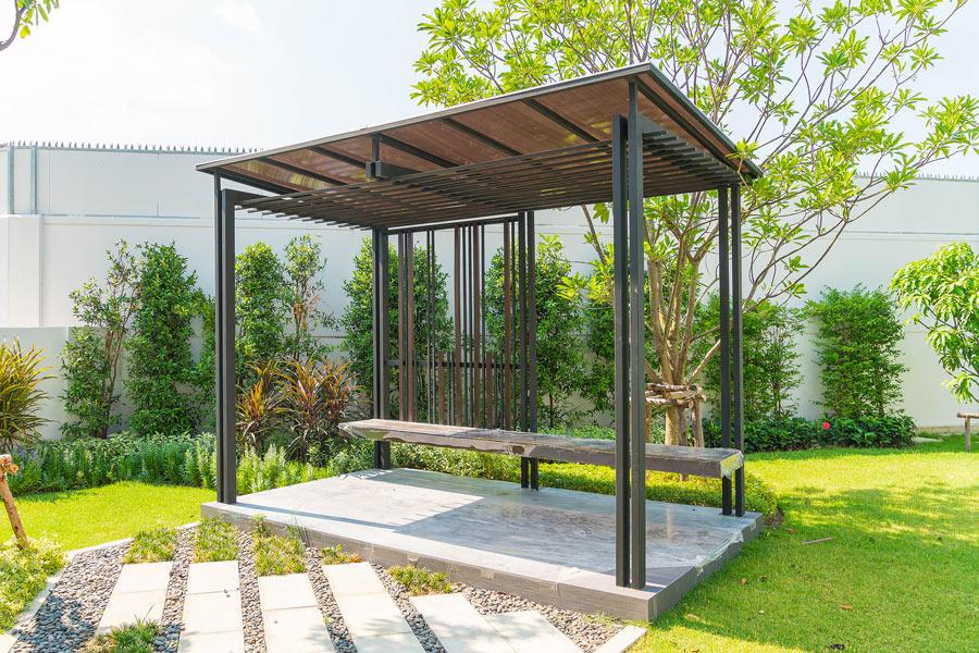 Überdachungen und Vordächer von Fröhle Bau- & Kunstschlosserei